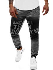 b0709d2bfc Pantalón de chándal de hombre grafito OZONEE JS KK300130