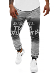 3cd5bef6c6 Pantalón de chándal de hombre gris OZONEE JS KK300130