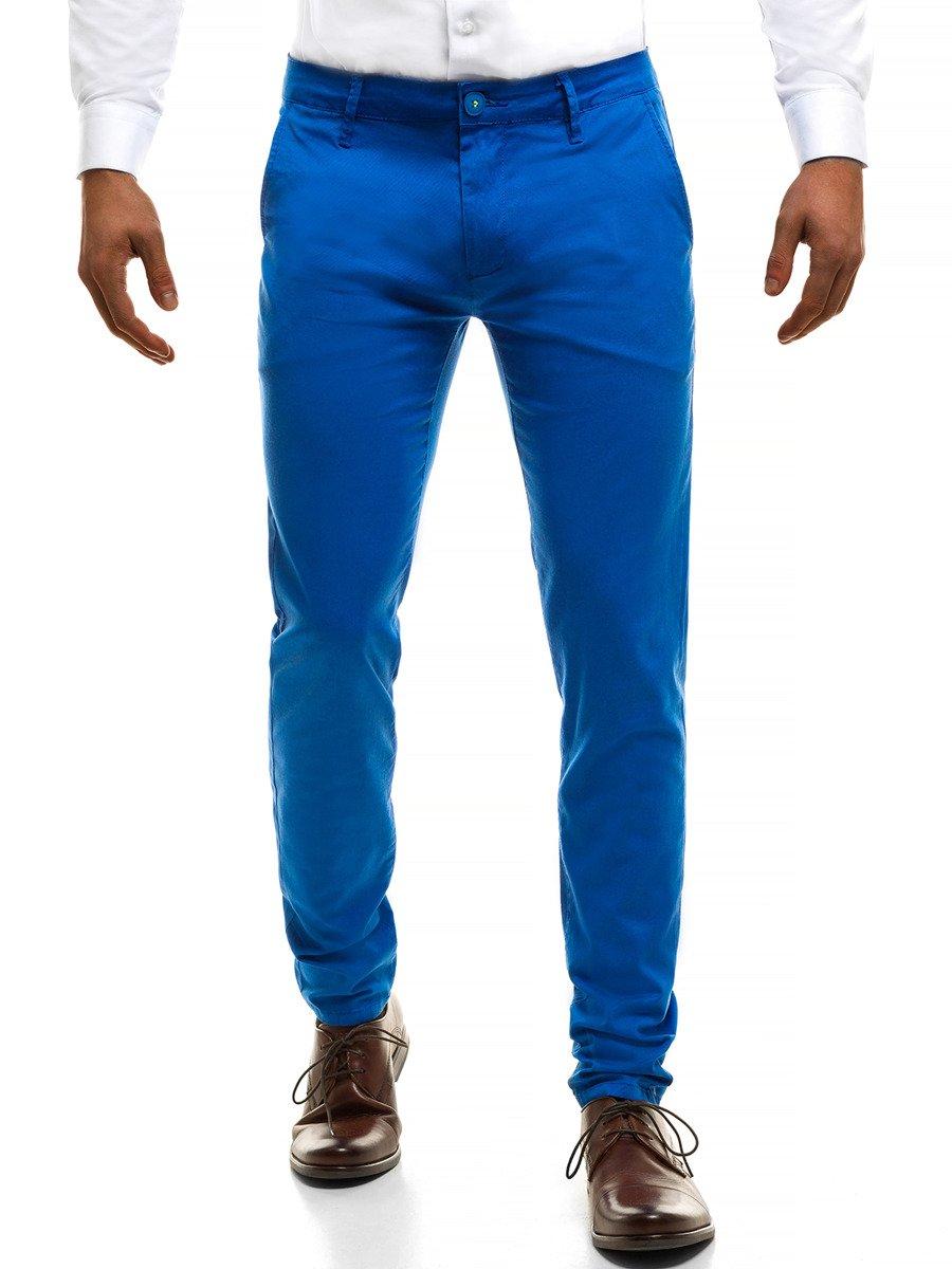 d0a791c13 ... BRUNO LEONI 9848 Pantalón de hombre azul ...
