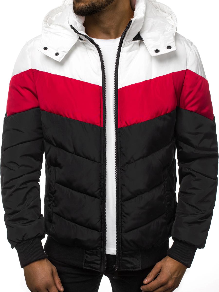 rebajas outlet moda caliente moda atractiva Chaqueta de hombre negra OZONEE JD/398 | OZONEE