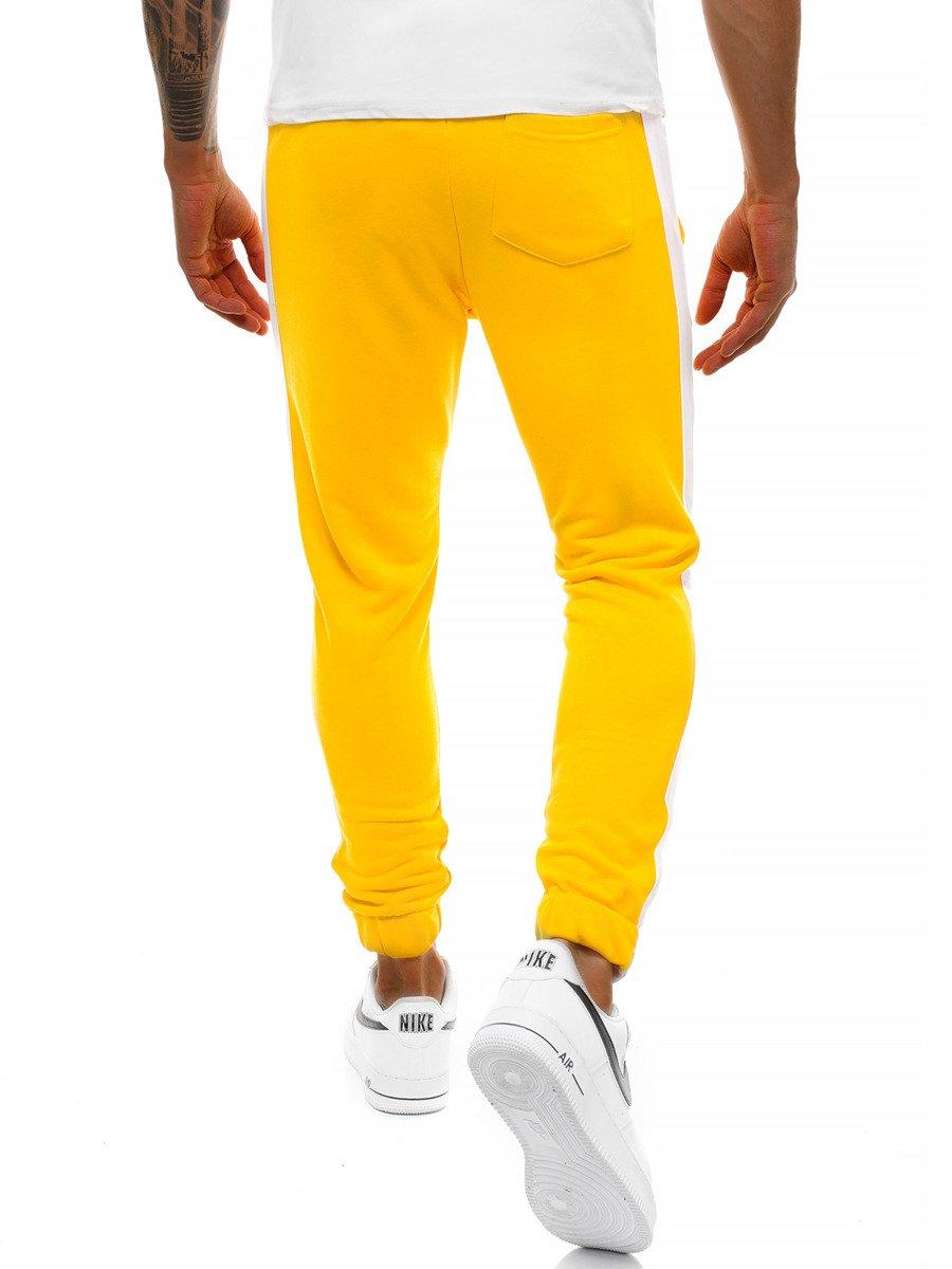 sin impuesto de venta excepcional gama de estilos buscar Pantalón de chándal de hombre amarillo OZONEE O/11118 | OZONEE