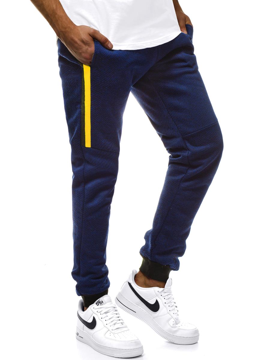 Pantalon De Chandal De Hombre Azul Marino Ozonee Js Am68 Ozonee