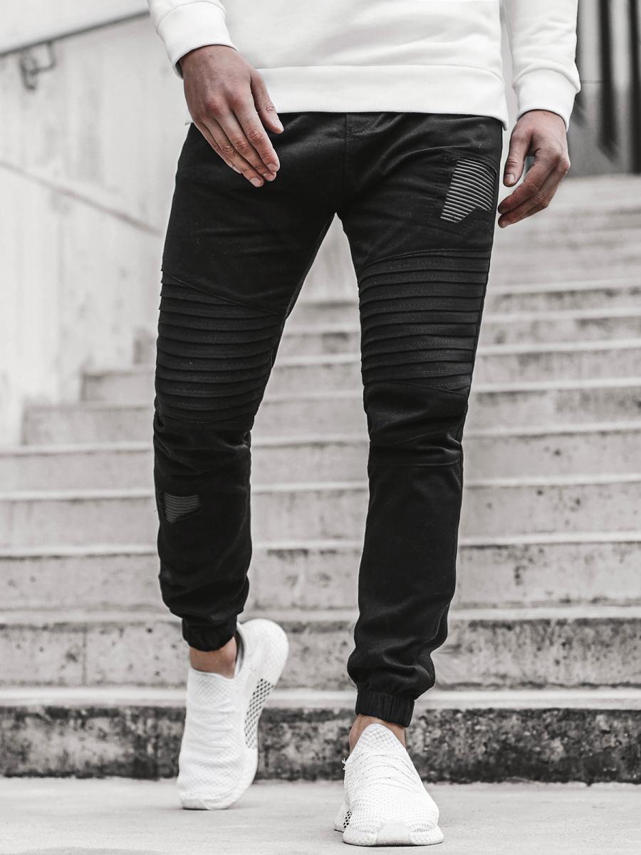 Pantalon Jogger De Hombre Negro Ozonee A 829 Ozonee