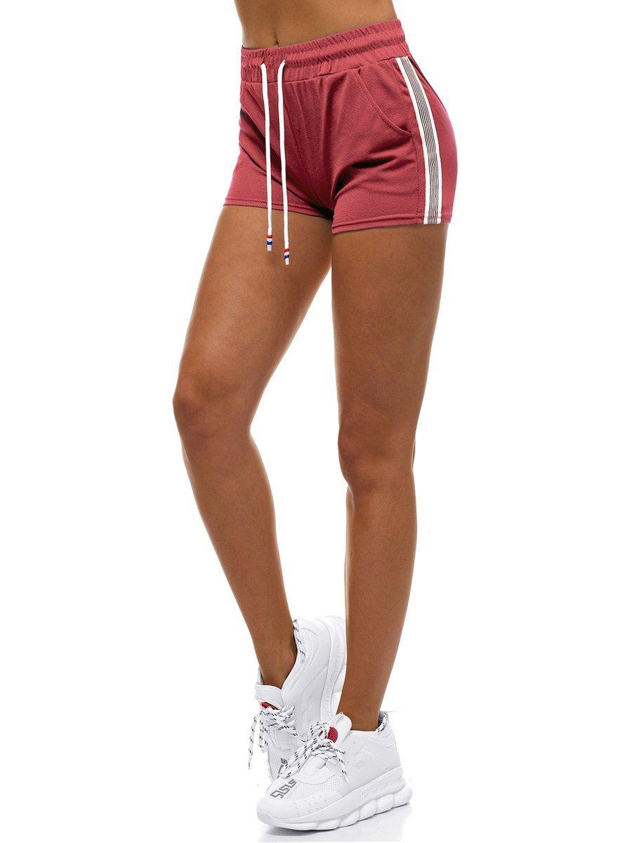 Pantalones Cortos De Chandal Para Mujer Rosa Ozonee Js 1023 B17 B Ozonee