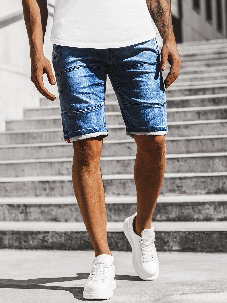 Ropa Zapatos Accesorios De Hombre Pantalones Cortos Shorts Vaqueros Pantalones Bermudas Jeans Verano Ocio Ozonee Rf Hy322 Caballeros Ropa Calzado Y Complementos Aniversarioqroo Cozumel Gob Mx